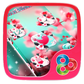 Blooming Flowers Launcher Theme icon