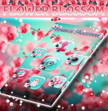 Flower Blossom GO Launcher apk screenshot