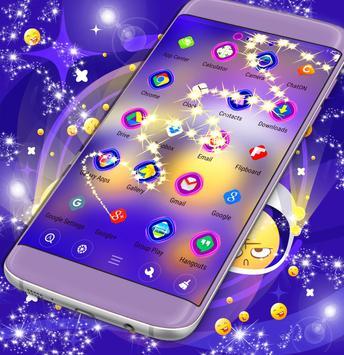 Galaxy Emoji Launcher poster