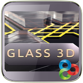 Metal and Glass Launcher icon