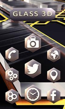 Metal and Glass Launcher apk screenshot