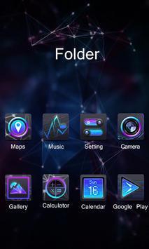 GLOW GO Launcher Theme apk screenshot