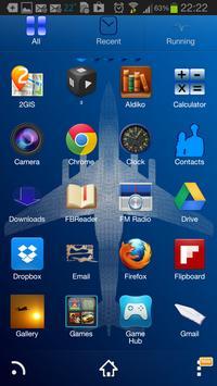 Airplane Go Launcher Ex theme apk screenshot