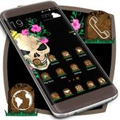 Skulls Theme For Launcher icon
