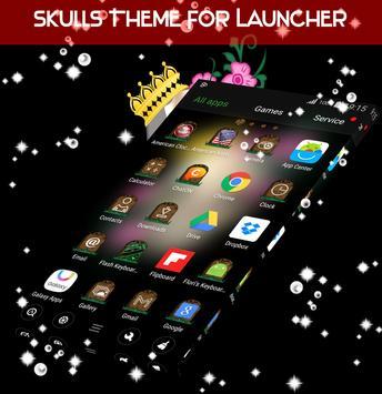 Skulls Theme For Launcher screenshot 3