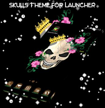 Skulls Theme For Launcher screenshot 2