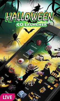 Halloween Dynamic Go Launcher Theme poster