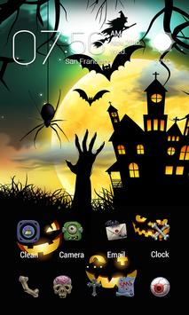 Halloween Dynamic Go Launcher Theme screenshot 1