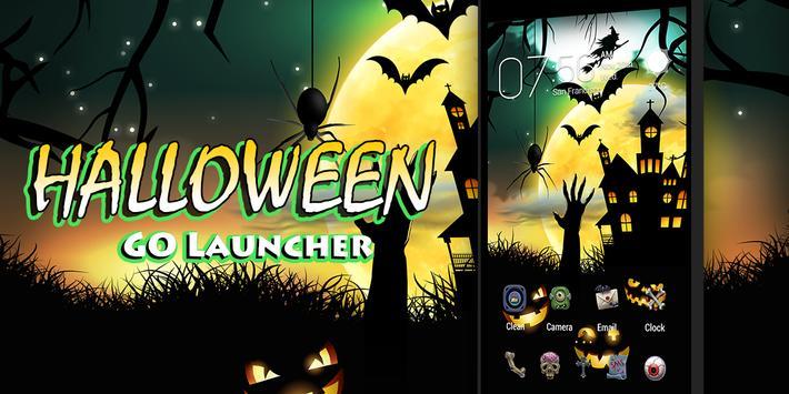 Halloween Dynamic Go Launcher Theme screenshot 4