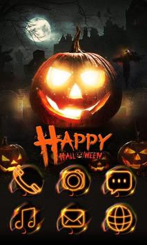 Happy Halloween Go Launcher Theme poster