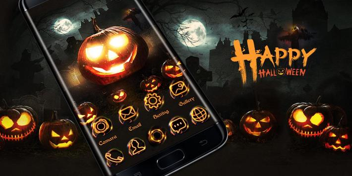 Happy Halloween Go Launcher Theme screenshot 3
