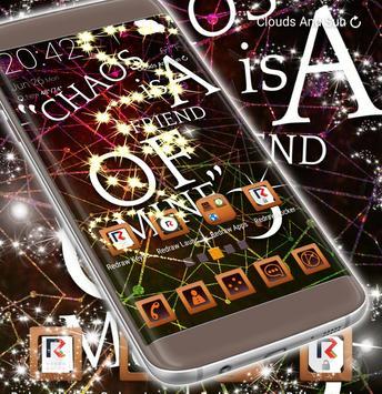 3D Chaos Launcher Theme apk screenshot