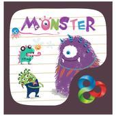 Lovely Monster GoLauncherTheme icon