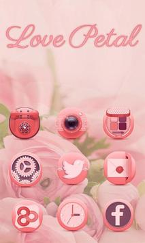 Pure Roses Launcher Theme apk screenshot