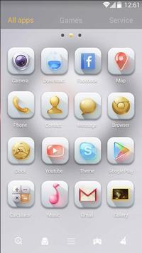 Pure Spirit GO Launcher Theme apk screenshot