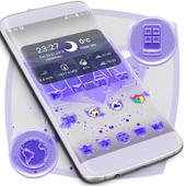 Purple Icons Free icon