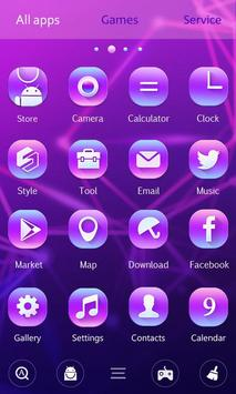 Particle Plexus GO Launcher Theme apk screenshot