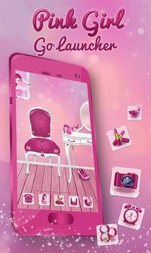 Cute Girly Pink Launcher poster