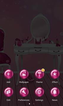 Cute Girly Pink Launcher screenshot 4