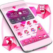 Pink Heart Icons icon