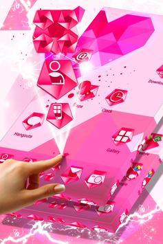 Pink Heart Icons screenshot 2