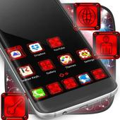 Red Heart Launcher icon
