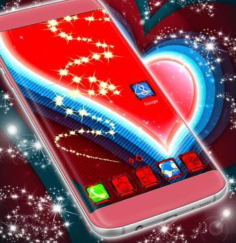 Red Heart Launcher screenshot 2