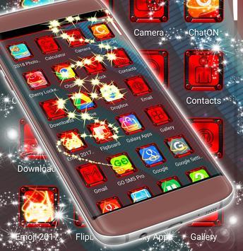Red Heart Launcher screenshot 3