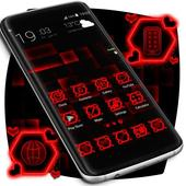 Red Launcher Theme icon