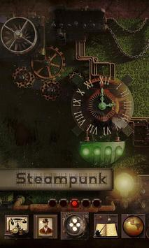 Steampunk GO Launcher poster