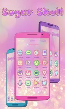 Crystal Sugar Launcher Theme apk screenshot
