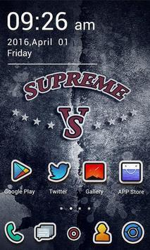 SUPREME GO Launcher Theme apk screenshot