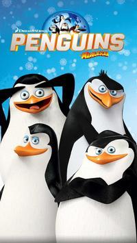 Madagascar Penguins GO Theme poster