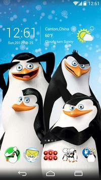 Madagascar Penguins GO Theme screenshot 1
