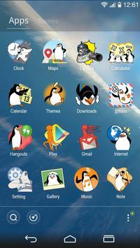 Madagascar Penguins GO Theme screenshot 2