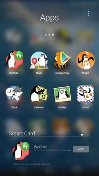 Madagascar Penguins GO Theme screenshot 3
