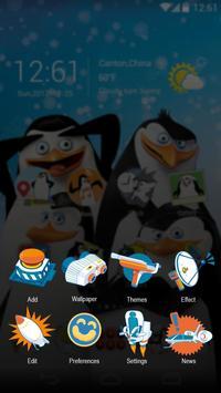 Madagascar Penguins GO Theme screenshot 4