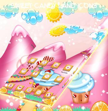 Sweet Candy Land Icons screenshot 1