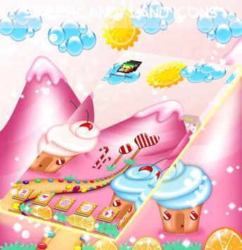 Sweet Candy Land Icons screenshot 2