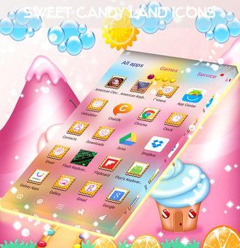 Sweet Candy Land Icons screenshot 3