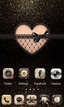 SEXY LACE GO Launcher Theme apk screenshot