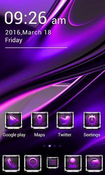 SEXY PURPLE  GO Launcher Theme apk screenshot
