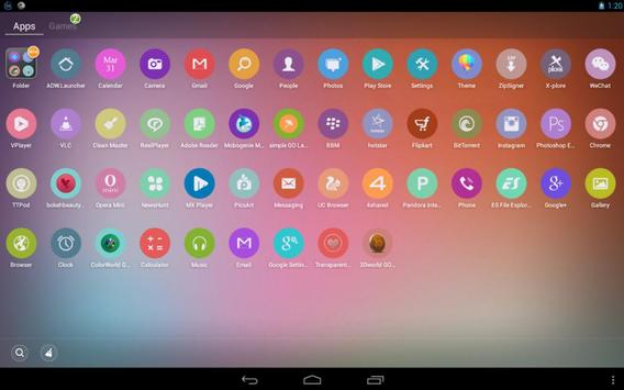 Simple Launcher Theme apk screenshot