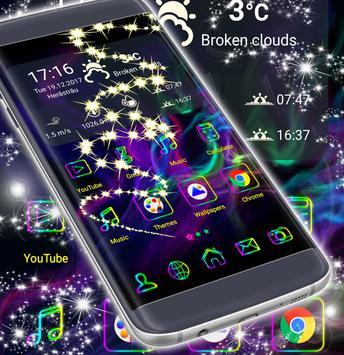Smoke Colors Theme screenshot 4
