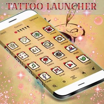 Tattoo GO Launcher apk screenshot