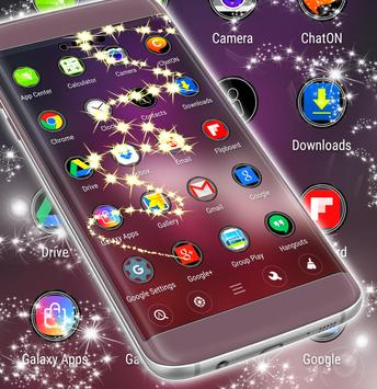 Glitter New Launcher Theme apk screenshot