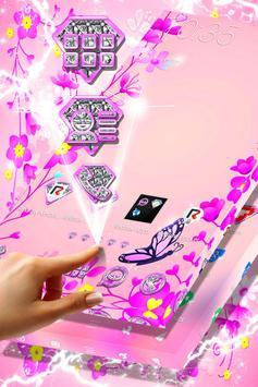 Pink Flower Launcher poster