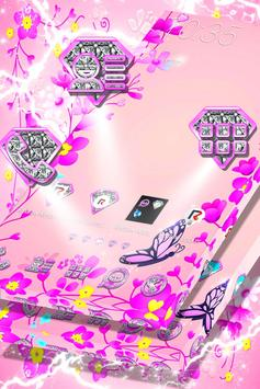 Pink Flower Launcher screenshot 2