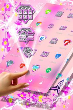 Pink Flower Launcher screenshot 3