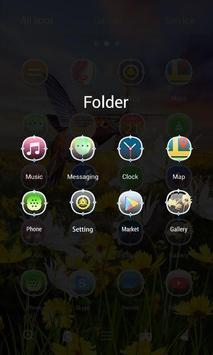 Tranquility 3D Go Launcher Theme apk screenshot
